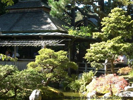japanese tea garden, tea house, golden gate park