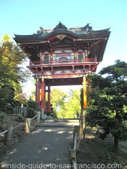 japanese tea garden, san francisco, temple gate