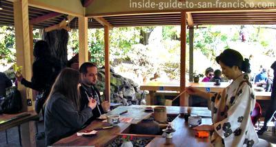 japanese tea garden, san francisco, tea ceremony