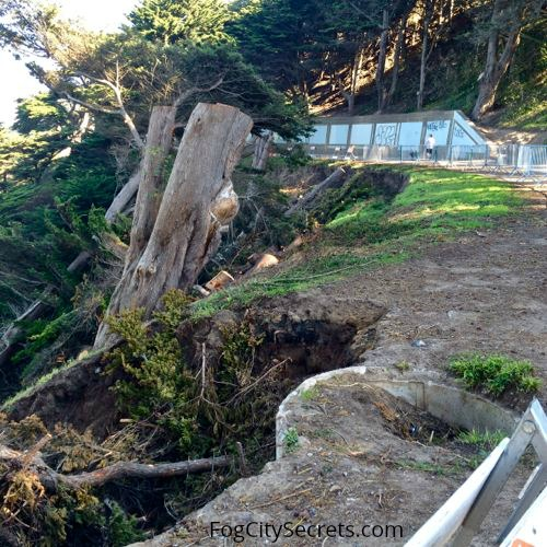 lands end trail collapse
