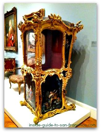 legion of honor san francisco, baroque litter