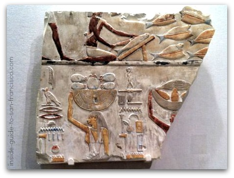 legion of honor san francisco, egyptian tomb relief