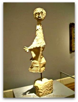 legion of honor san francisco, picasso sculpture, the orator