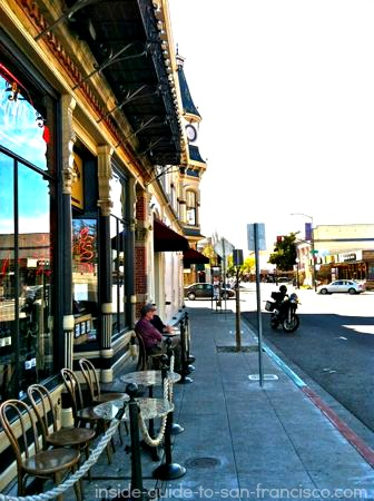 cafe in downtown napa