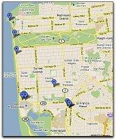 ocean beach thumbnail map