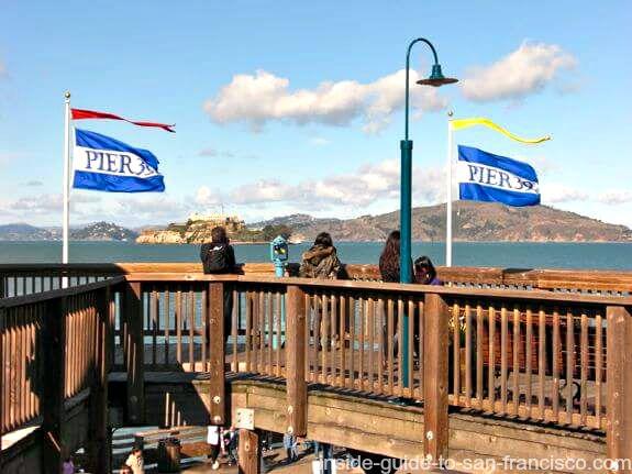 pier 39 san francisco, view of sf bay
