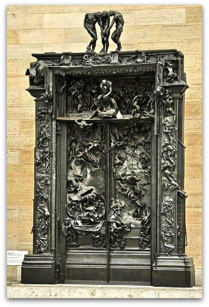 legion of honor san francisco, rodin, gates of hell sculpture