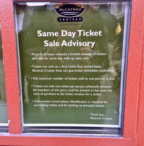 same day alcatraz tickets sign