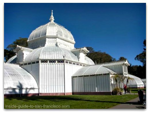 san francisco conservatory of flowers, dome