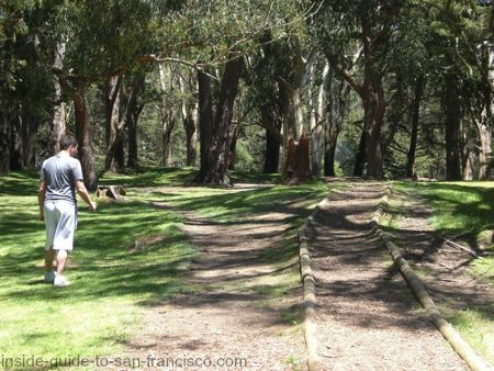san francisco disc golf course