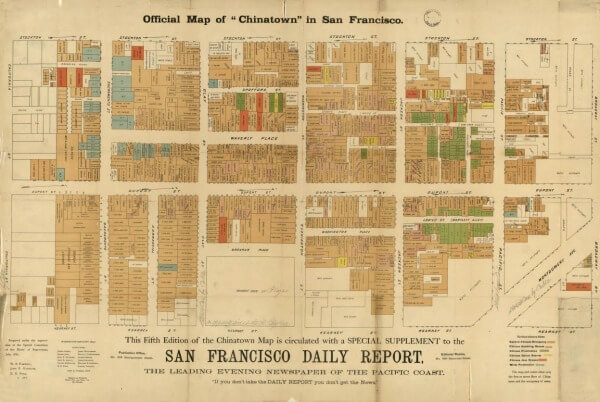 map of old chinatown in san francisco