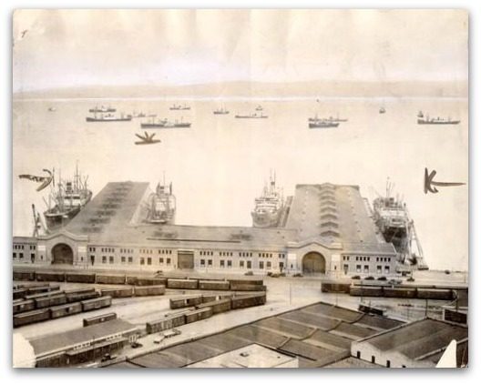 san francisco piers 29 and 31, 1934