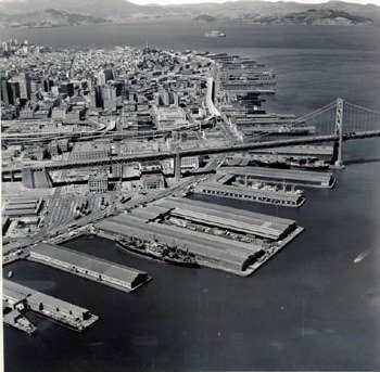 Pier 27 San Francisco Map.The San Francisco Piers By The Numbers