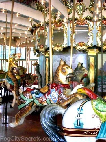san francisco zoo, carousel cats