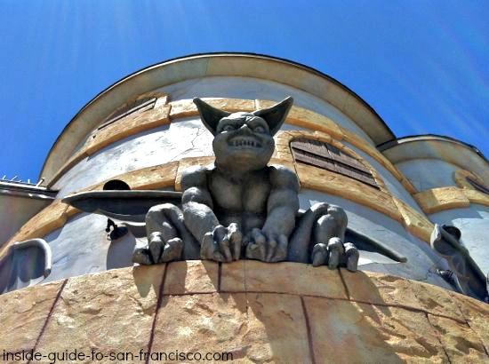 haunted castel ride, santa cruz boardwalk