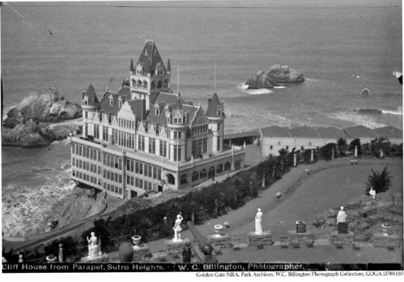 cliff house 1897, san francisco