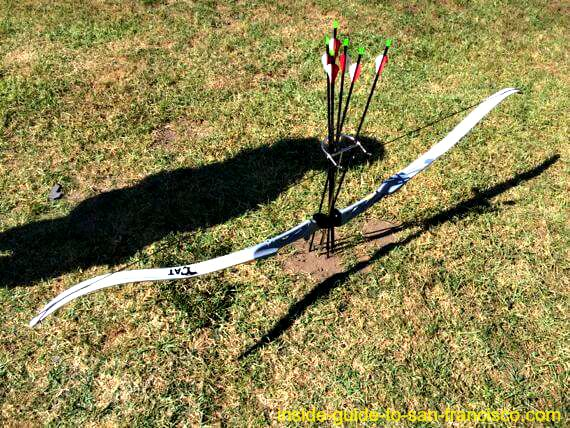 recurcive bow and arrows