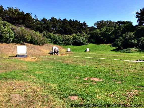 sf archery range, golden gate park