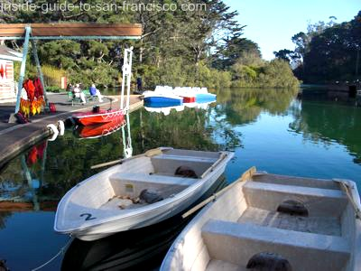 new boats, stow lake dock