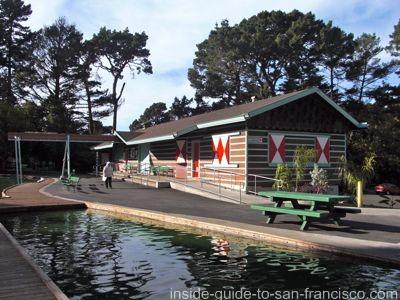 stow lake, boathouse restoration