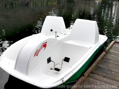 stow lake, new electric boats