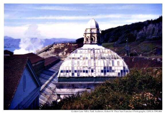 glass done of sutro baths