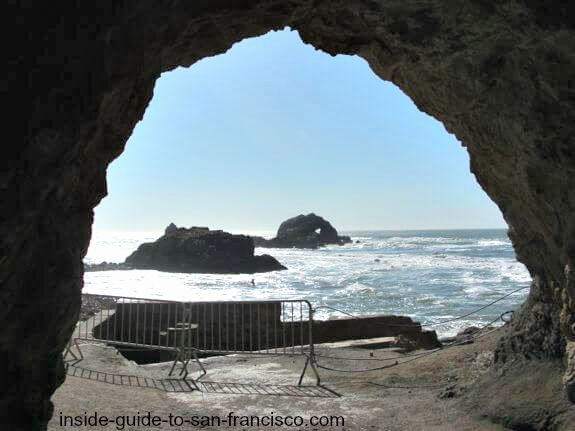 tunnel at sutro baths