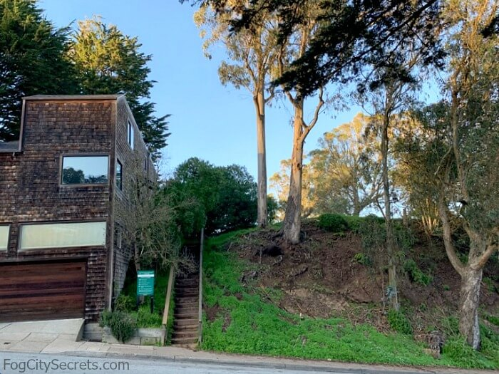 tank hill stairs, san francisco