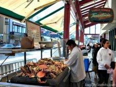 Crab stand at Fisherman's Wharf, San Francisco.