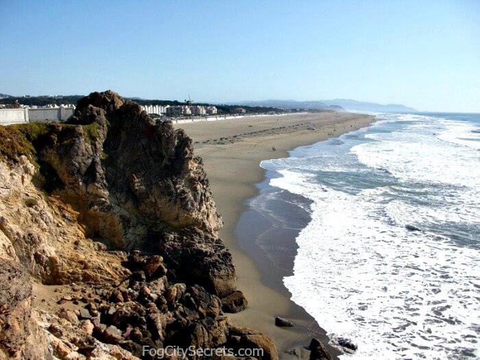 View of Ocean Beach San Francisco
