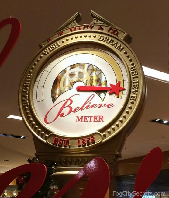 Macy's Believe Meter, San Francisco