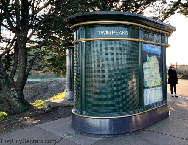Twin Peaks San Francisco toilet