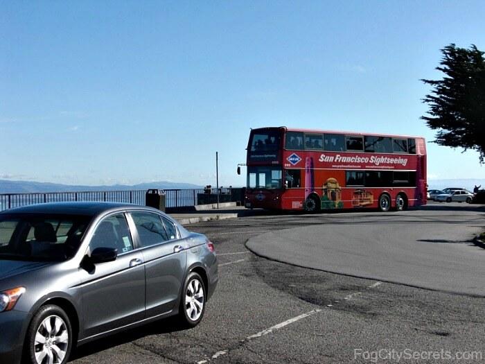 Twin Peaks San Francisco parking lot
