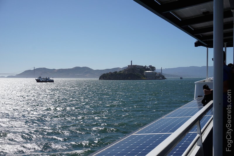 Alcatraz ferry ride to Alcatraz Island