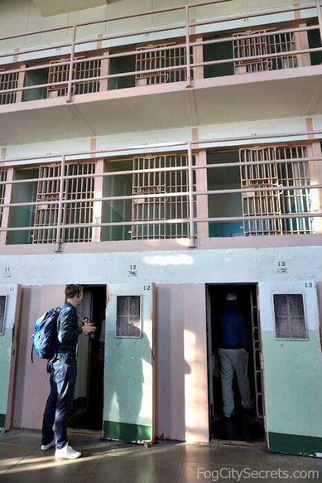 Solitary cells, Alcatraz prison