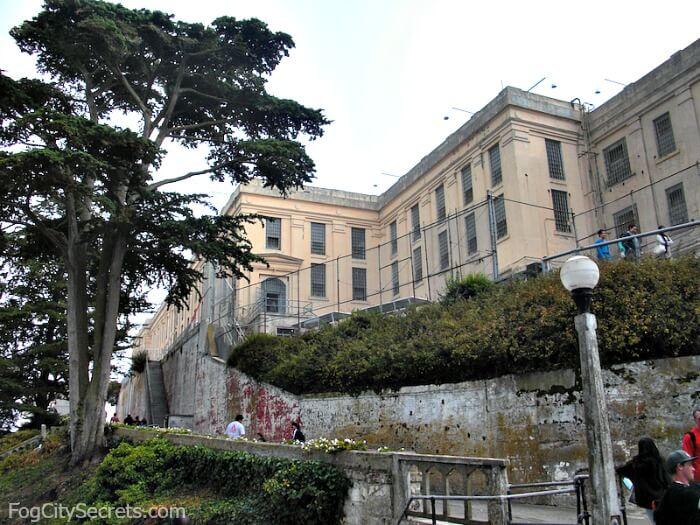 Alcatraz prison cellblock