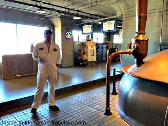 Anchor Steam Brewery tour guide
