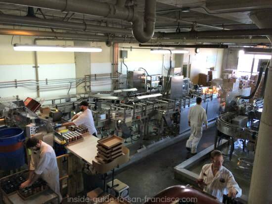 Filling Beer Cans, Anchor Steam Brewery assembly line