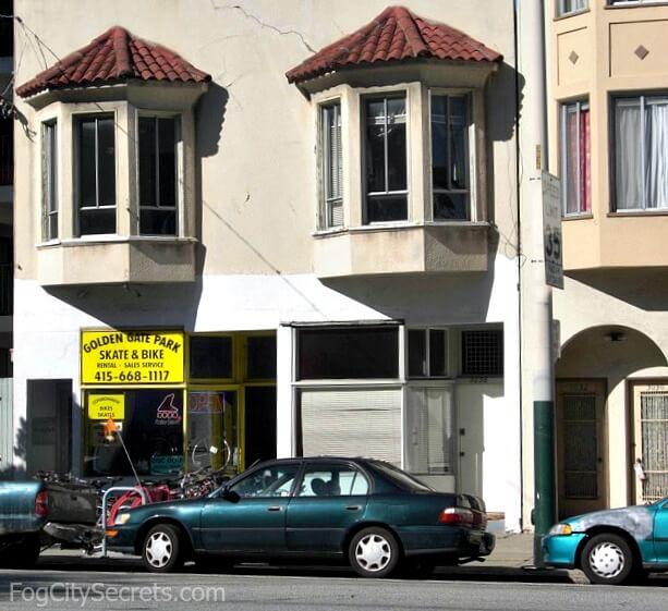 Golden Gate Park Bike and Skate bike rental shop, San Francisco