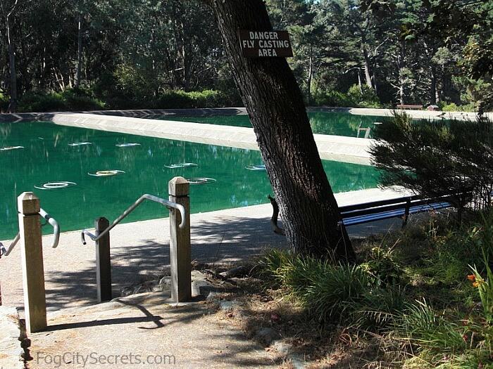 Fly casting pools, Golden Gate Park
