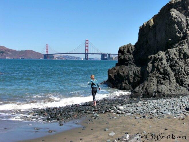 Rocks at China Beach, San Francisco