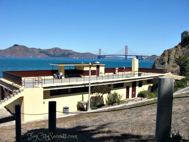 recreational building at china beach in san francisco