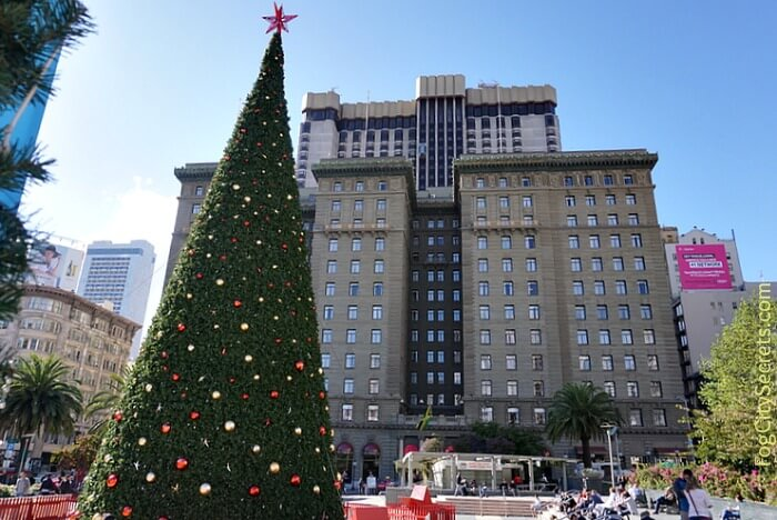 Christmas tree, Union Square, San Francisco