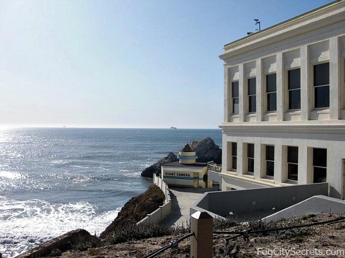 Cliff House restaurant, San Francisco, ocean view