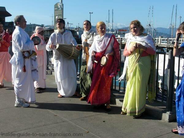 Fisherman's Wharf Hare Krishnas