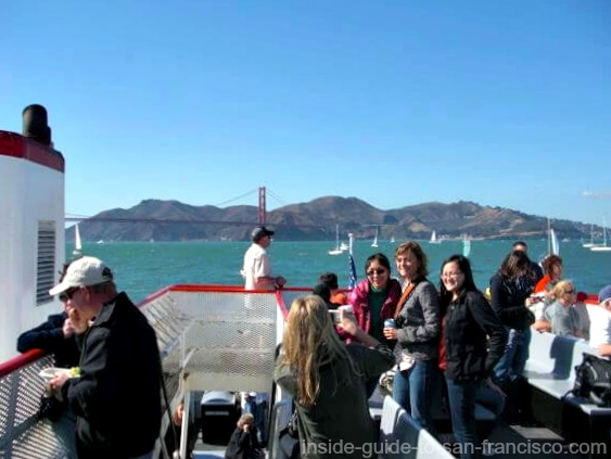 View From the Red and White Fleet Week Cruise