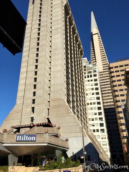 Hilton Hotel San Francisco Financial District Kearny Street Entrance