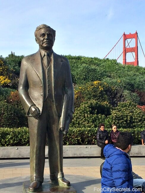 Statue of Joseph Strauss, Golden Gate Bridge