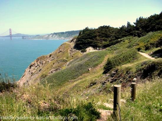lands end coastal trail bridge view