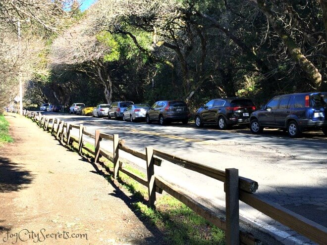 muir woods road parking